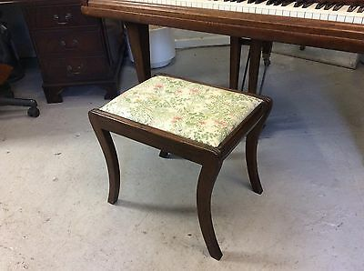 Lovely antique piano stool