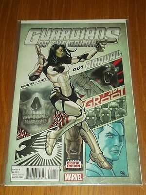 Guardians Of The Galaxy Annual #1 Marvel Comics Nm (9.4)