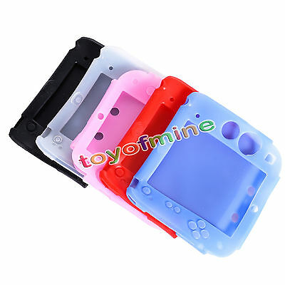 Protective Soft Silicone Rubber Gel Skin Case Cover Skin for Nintendo 2DS