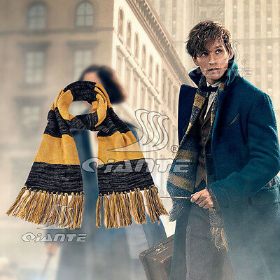 New Fantastic Beasts and Where to Find Them Cosplay Scarf Newt Scamander Scarf