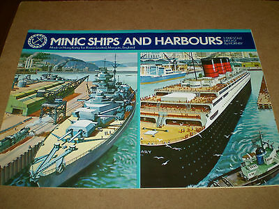 Hornby Minic Ships Toy Catalogue Undated Uk Edition Excellent Condition