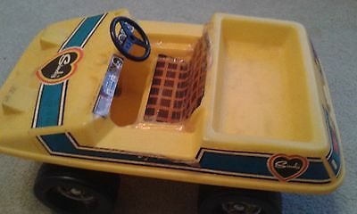 Vintage 70s 1970s Sindy Yellow Beach Buggy Car