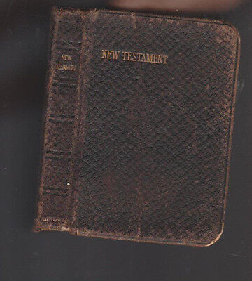 New Testament of Our Lord & Saviour Jesus Christ Oxford 1914 Pocket Size