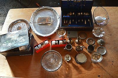 Massive Silverplate Mixed Lot