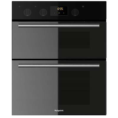 Hotpoint DU2540BL Built Under B Rated Electric Double Oven with Timer in Black