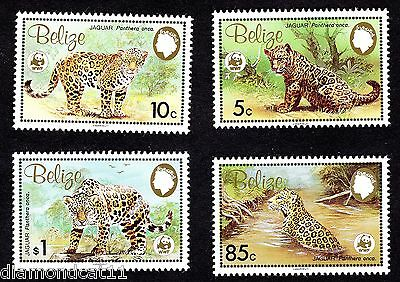 1983 Belize The Jaguar SG756-9 MNH R27756
