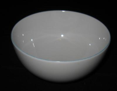 """Raynaud Limoges, France MONCEAU Turquoise Blue, Cereal Bowl, 5 3/8"""""""