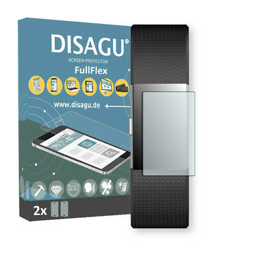 2x Disagu FullFlex screen protector for Fitbit Charge 2 foil
