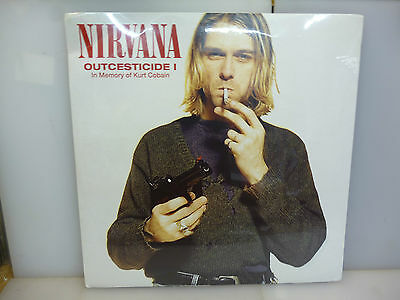 Nirvana-Outcesticide I. Rarities-Clear Vinyl Lp-New.sealed