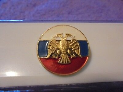 Vintage 2 Headed Imperial Eagle Political Party Pin? New Old Stock