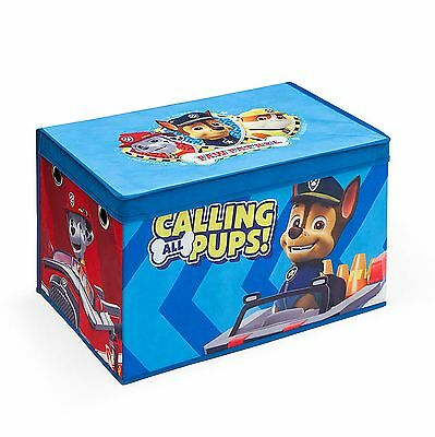 Delta Children Paw Patrol Collapsible Fabric Toy Box Nursery Playroom Toybox
