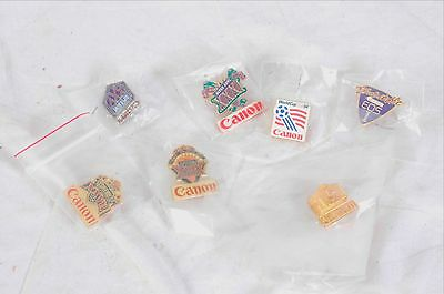 Canon eos lapel pin collection t90 & more...