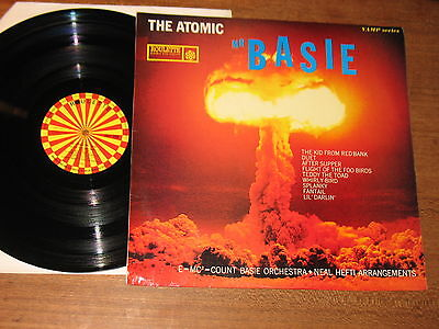 Count Basie 'The Atomic Basie' 1969 UK-issue Roulette Records LP
