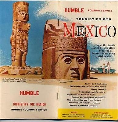 Humble Touring Service Touristips for Mexico Booklet  1961