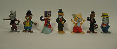 Rare AROUND THE WORLD WITH WILLY FOG, 7 PVC FIGURES MAIA & BORGES PORTUGAL 1983