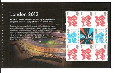 Olympic games prestige booket dy5 3337a high value mint pane
