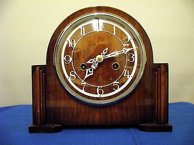 Vintage Smiths Enfield Striking Mantel Clock 1954. The Morling.