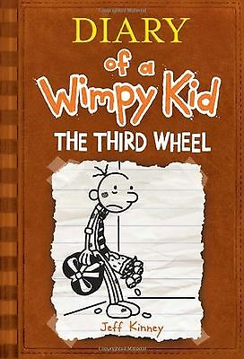 Diary of a Wimpy Kid #7: The Third Wheel New