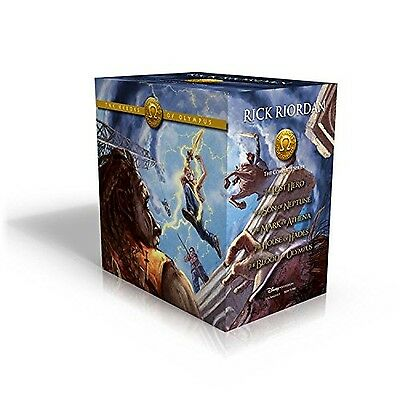 The Heroes of Olympus Paperback Boxed Set New