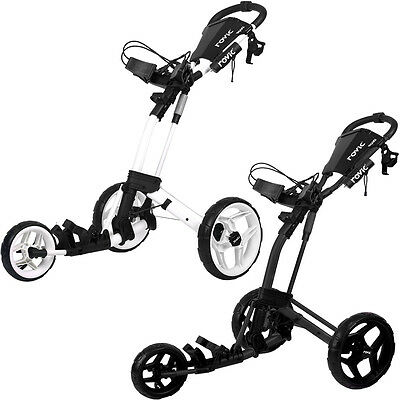 Clicgear Golf 2017 Rovic RV2L Push Cart Lightweight Trolley + FREE GIFT!