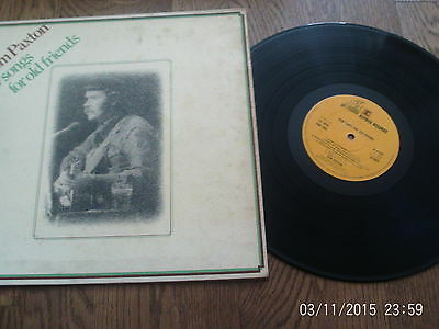 Tom Paxton - New Songs For Old Friends - 1973 Reprise  vinyl lp