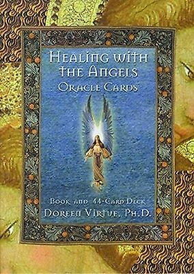 Healing With The Angels Oracle Cards New