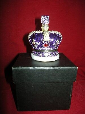 Imperial State Crown Trinket/ring Box In Own Box.