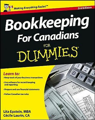 Bookkeeping For Canadians For Dummies New