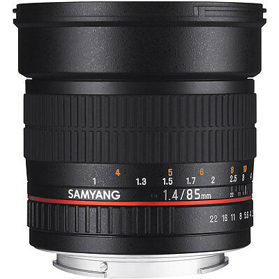 Samyang 85mm F1.4 AS IF UMC Lens in Canon Fit