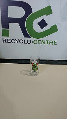 1989 Ghostbusters II 2 SLIMER Promo Drinking Glass Columbia Pictures