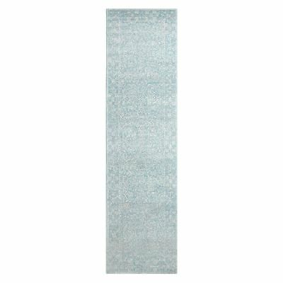 NEW Rug Culture Jerez Oriental Runner Rug in Blue, Multi-Coloured