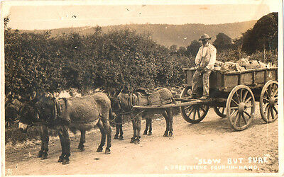 presteigne 4 in hand  period card