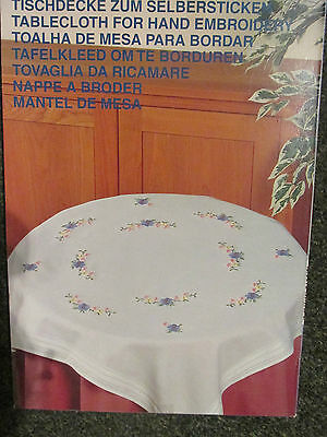 Tablecloth Kit to Embroider~Complete with Yarns