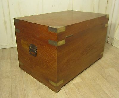 A Large Camphor Wood Chest