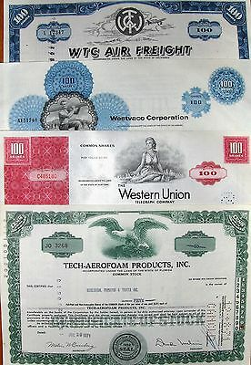 23 different @ your choice. US stock certificate & bond @65c Lot # 30
