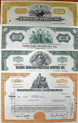 23 different @ your choice. US stock certificate & bond @65c Lot # 31