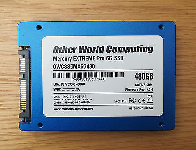 OWC Mercury Extreme Pro 6G 480GB Solid State Drive SSD