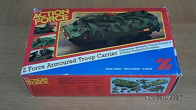 1984 Action Force Z Force Armoured Troop Carrier ATC G.I. Joe Boxed Palitoy