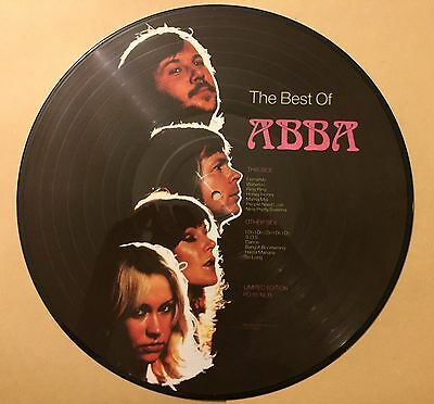 ABBA Import Picture Disk Limited Edition Greatest Hits Album