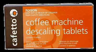 Cafetto Descaling Tablets