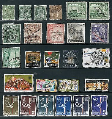 Malta - Very Nice Selection  of Stamps, ....Q16......# 6925