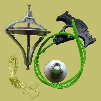 Retro Metal Precision Gyroscope Child Educational Physics Toy Science AS