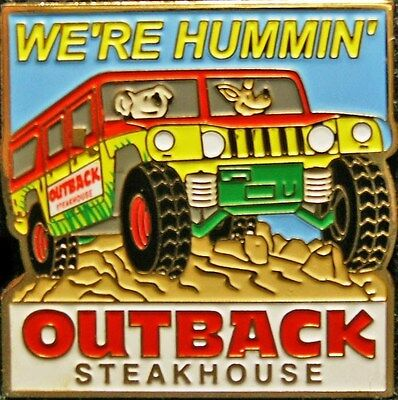 A5951 Outback Steakhouse We're Hummin'