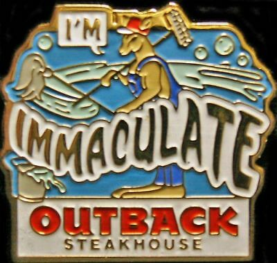 A2655 Outback Steakhouse  I'm Immaculate - old style