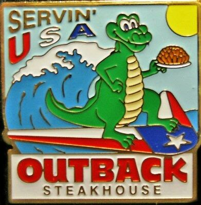 A5647 Outback Steakhouse Servin USA