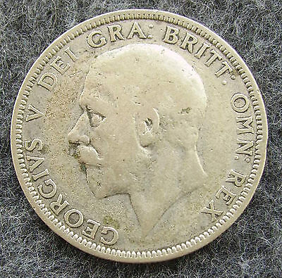 Great Britain 1929 One (1) Florin Silver Color Coin