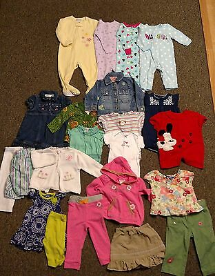 12 Month Baby Toddler Girls Clothes Mixed Lot-22 Pieces