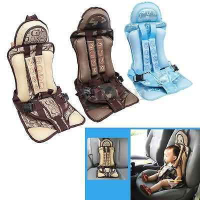Protable Safe Infant Child Kids Baby Car Seat Booster Chair Toddler Safety Strap