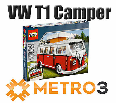 LEGO Creator Volkswagen T1 Camper Van 10220 NEW SEALED | FREE SHIPPING