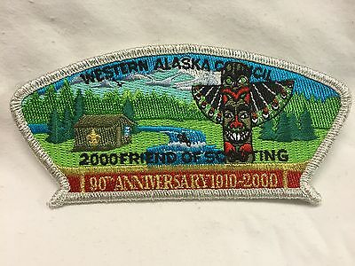 Boy Scouts - 2000 Friends of Scouting - Western Alaska Council csp